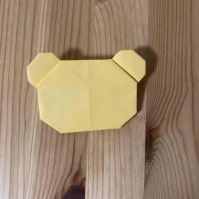折り紙 コリラックマの折り方作り方 (24)