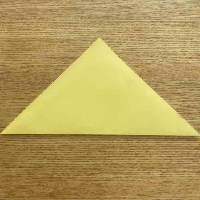折り紙 パイナップルの簡単な作り方(実の折り方 (2)