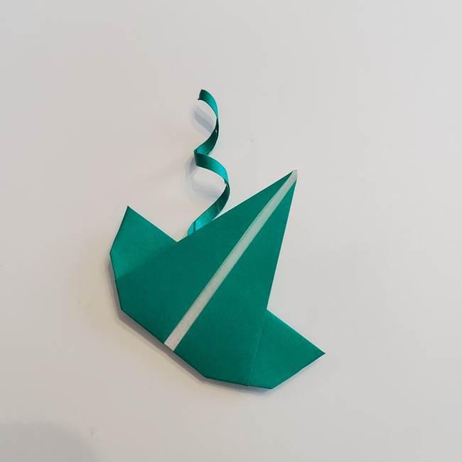 折り紙 朝顔のつると葉っぱの折り方☆簡単で子供にもつくれる作り方を紹介