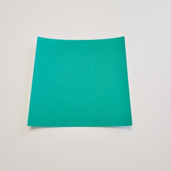 折り紙 朝顔のつると葉っぱ|必要なもの(1)