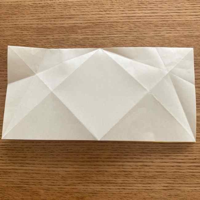 折り紙 皮むきバナナの折り方作り方(立体的) (12)