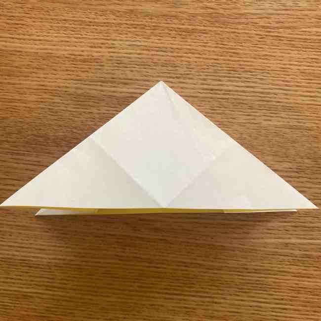 折り紙 皮むきバナナの折り方作り方(立体的) (16)