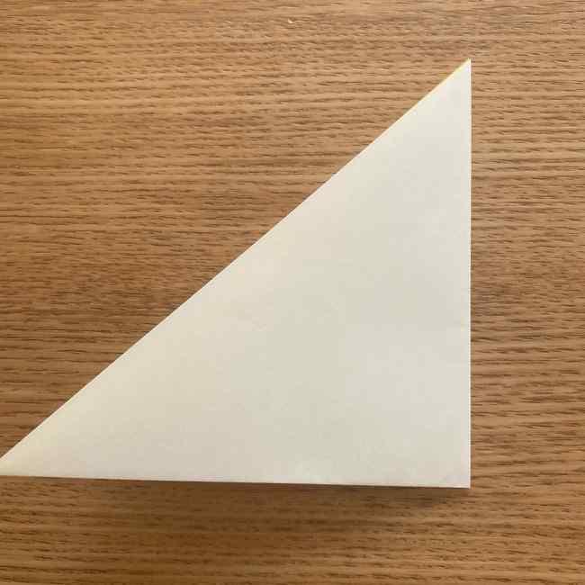 折り紙 皮むきバナナの折り方作り方(立体的) (2)