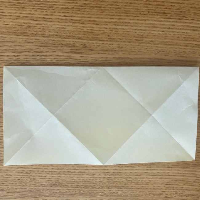 折り紙 皮むきバナナの折り方作り方(立体的) (6)