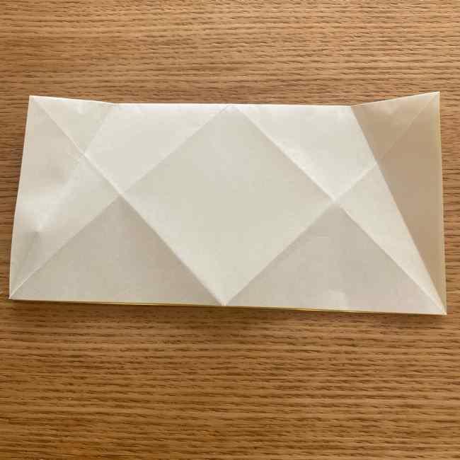 折り紙 皮むきバナナの折り方作り方(立体的) (9)