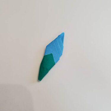 朝顔(あさがお)のつぼみの折り紙☆簡単な作り方折り方をご紹介