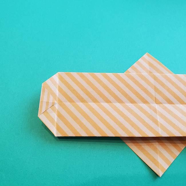 朝顔の折り紙の壁画フレームの作り方②フレーム(17)