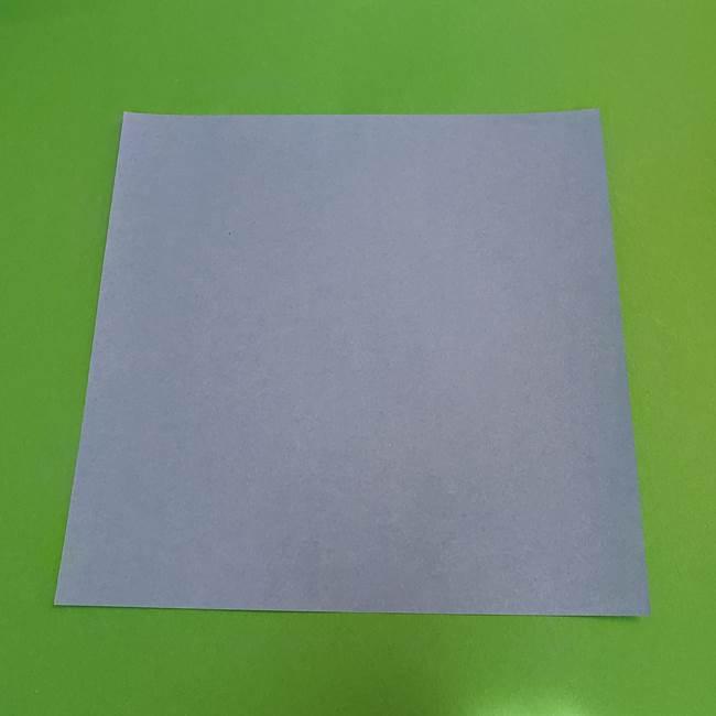 朝顔の折り紙は簡単♪子供と一緒につくってみよう(1)