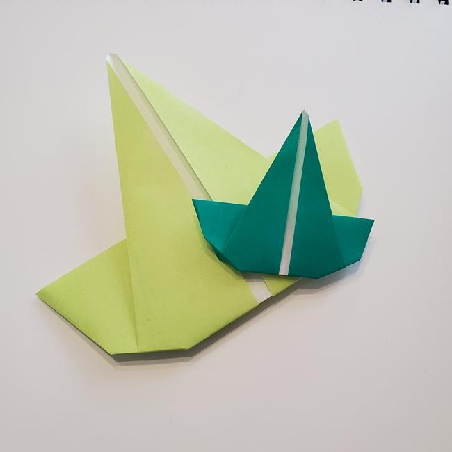 朝顔の折り紙 つると葉っぱの折り方は簡単!子供とつくるのも楽しい♪