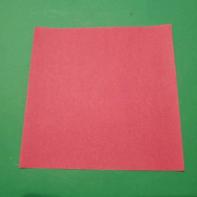 朝顔の折り紙 難しい折り方にも挑戦!用意するもの(1)