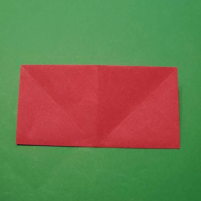 朝顔の折り紙 難しい立体的な折り方作り方(10)