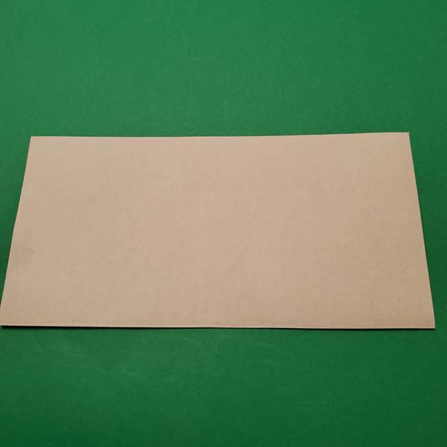朝顔の折り紙 難しい立体的な折り方作り方(2)