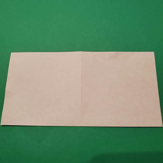 朝顔の折り紙 難しい立体的な折り方作り方(4)