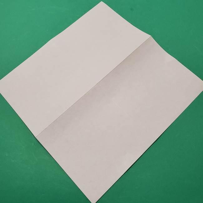 朝顔の折り紙 難しい立体的な折り方作り方(5)