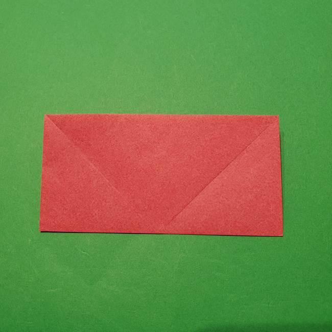 朝顔の折り紙 難しい立体的な折り方作り方(8)