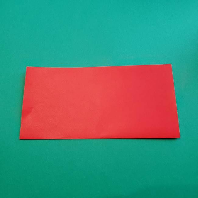 母の日の折り紙 バラの簡単な折り方作り方(2)