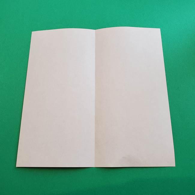 母の日の折り紙 バラの簡単な折り方作り方(3)