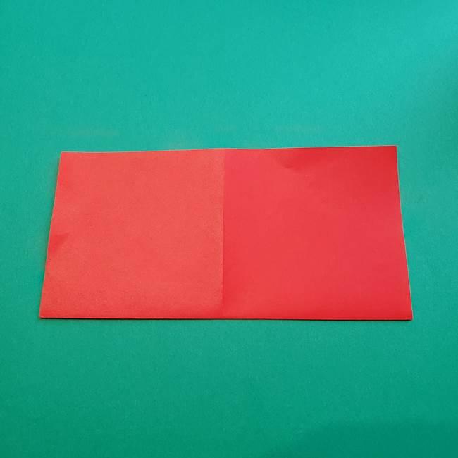 母の日の折り紙 バラの簡単な折り方作り方(4)