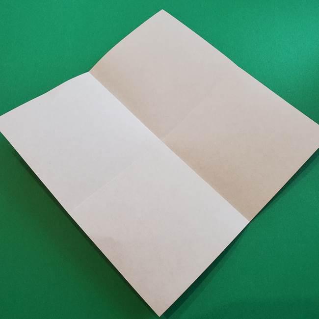 母の日の折り紙 バラの簡単な折り方作り方(5)