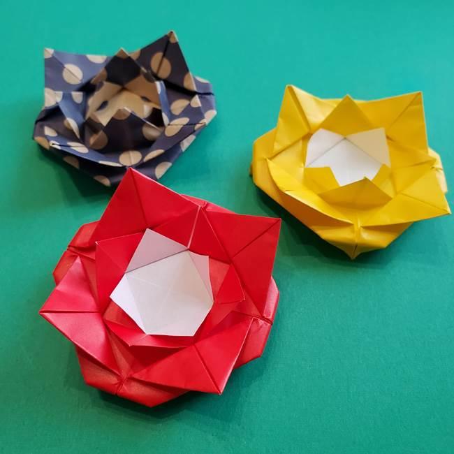 母の日の折り紙 バラの花の簡単な作り方☆可愛いプレゼントを手作り♪