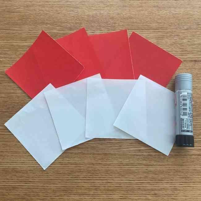 浮き輪の折り紙は簡単☆用意するもの