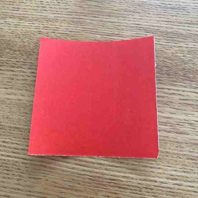 浮き輪の折り紙 簡単な折り方作り方 (1)