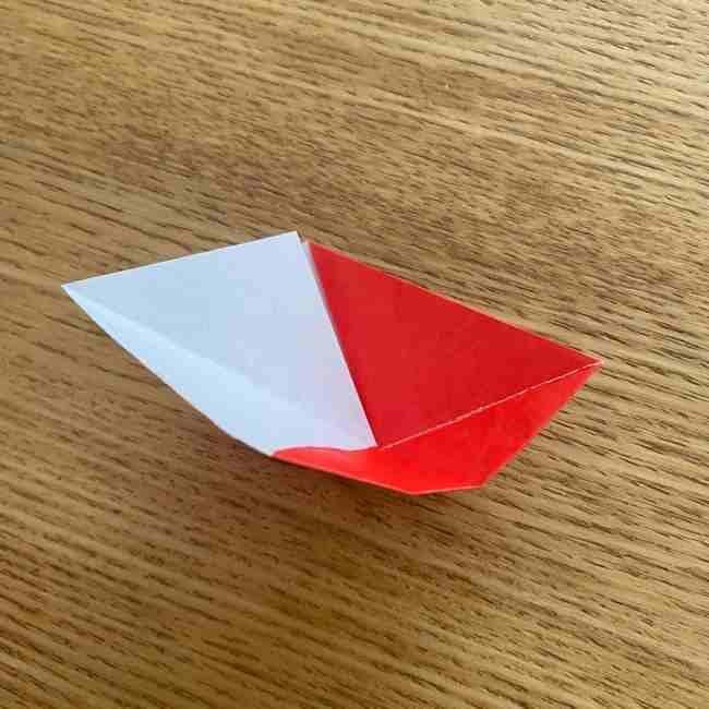浮き輪の折り紙 簡単な折り方作り方 (10)