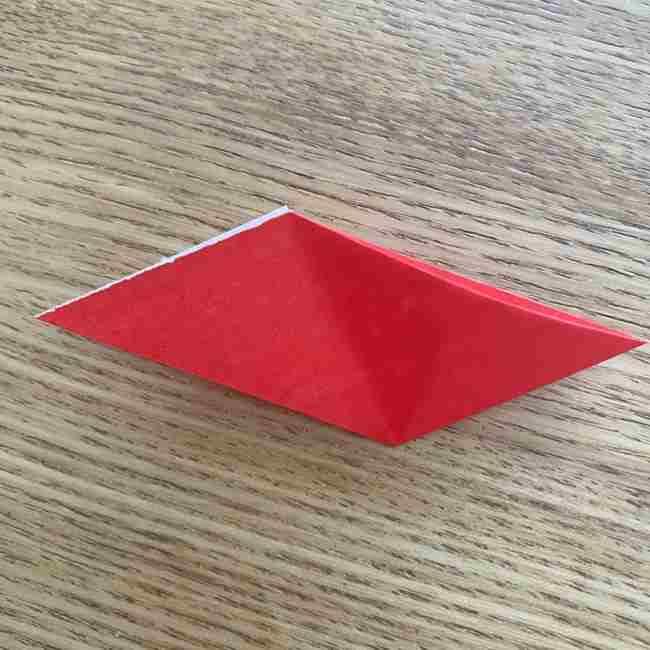 浮き輪の折り紙 簡単な折り方作り方 (11)