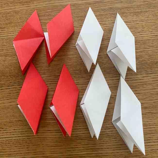 浮き輪の折り紙 簡単な折り方作り方 (12)