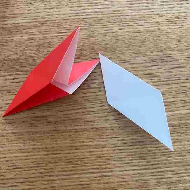 浮き輪の折り紙 簡単な折り方作り方 (13)