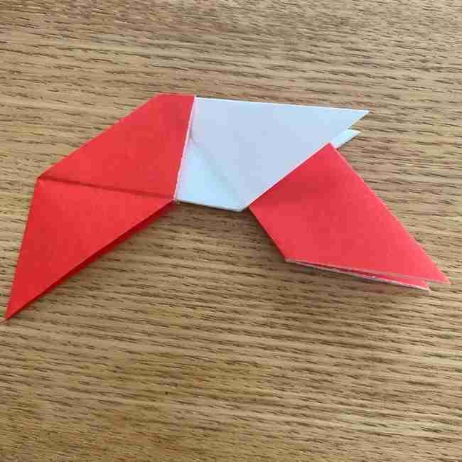 浮き輪の折り紙 簡単な折り方作り方 (17)