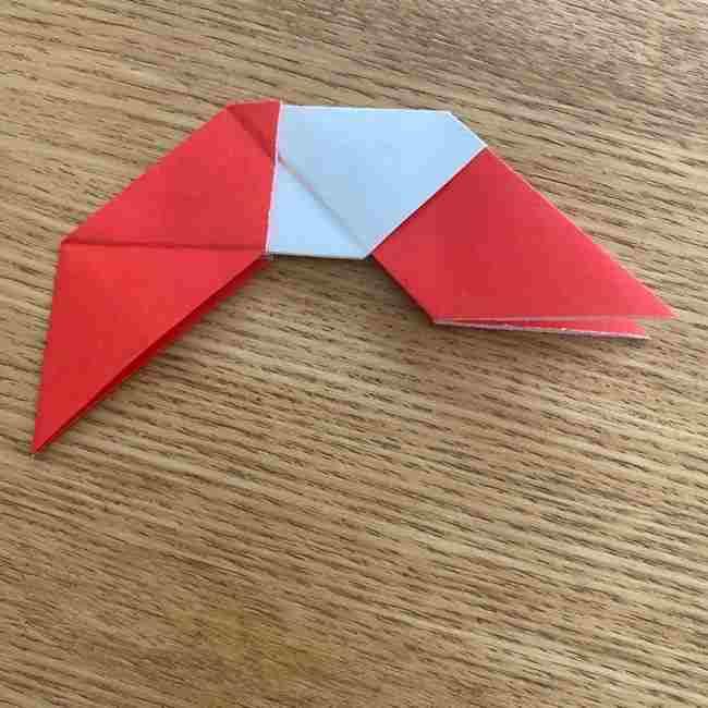 浮き輪の折り紙 簡単な折り方作り方 (18)
