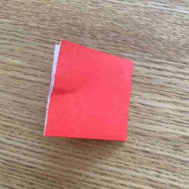 浮き輪の折り紙 簡単な折り方作り方 (3)