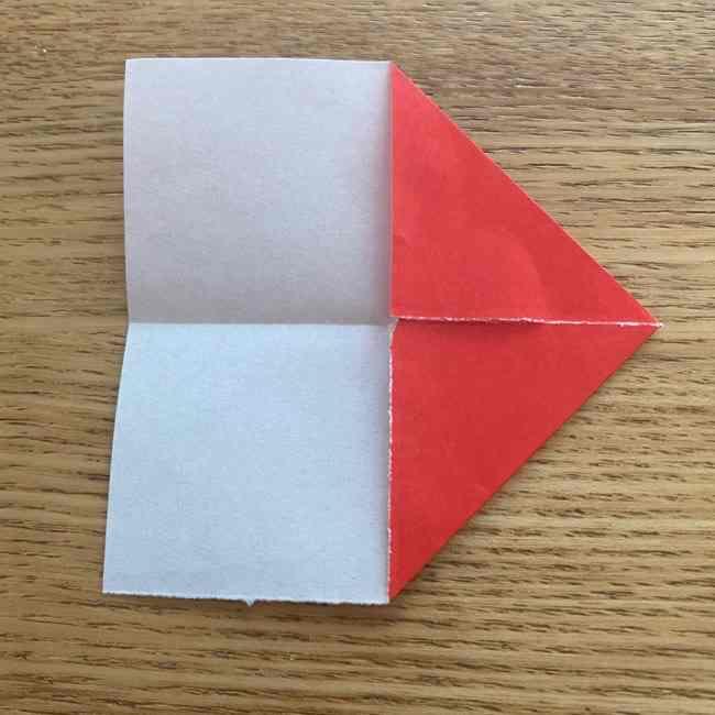 浮き輪の折り紙 簡単な折り方作り方 (5)