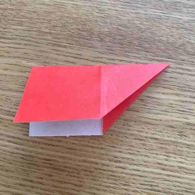 浮き輪の折り紙 簡単な折り方作り方 (6)