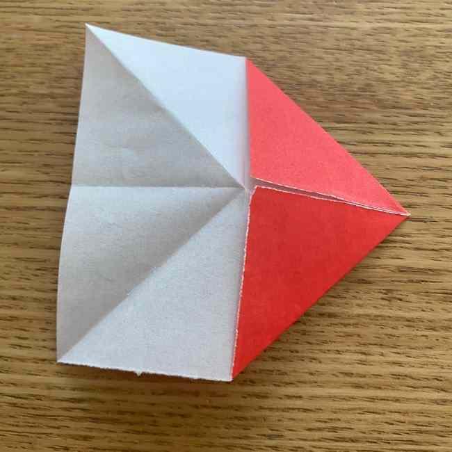 浮き輪の折り紙 簡単な折り方作り方 (8)