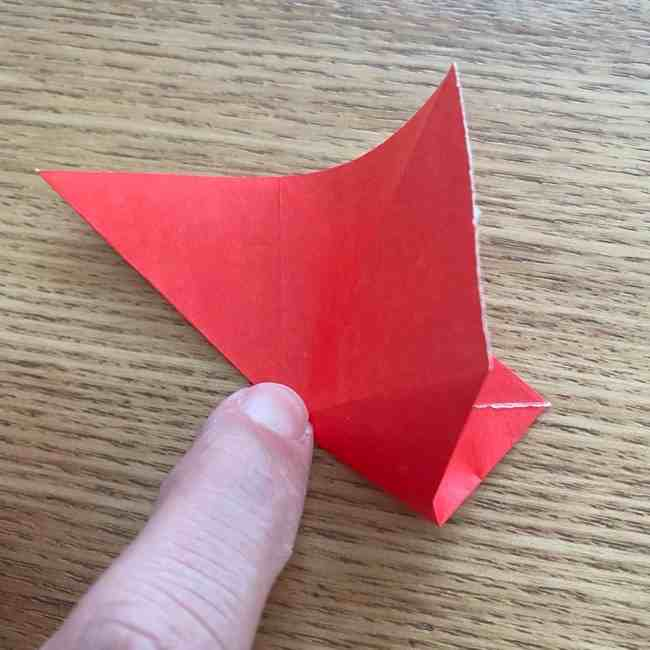 浮き輪の折り紙 簡単な折り方作り方 (9)