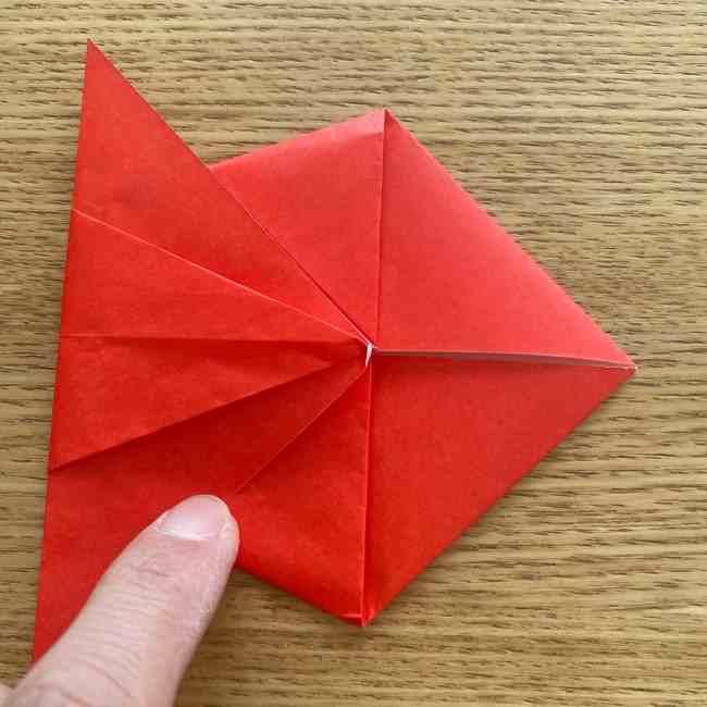 金魚の折り紙 簡単!子どもでも作れる折り方作り方 (13)