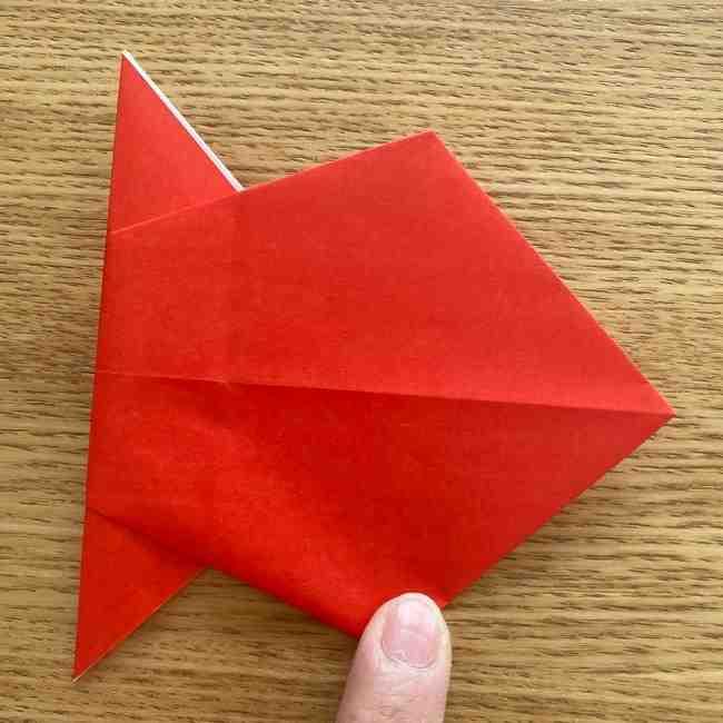 金魚の折り紙 簡単!子どもでも作れる折り方作り方 (14)