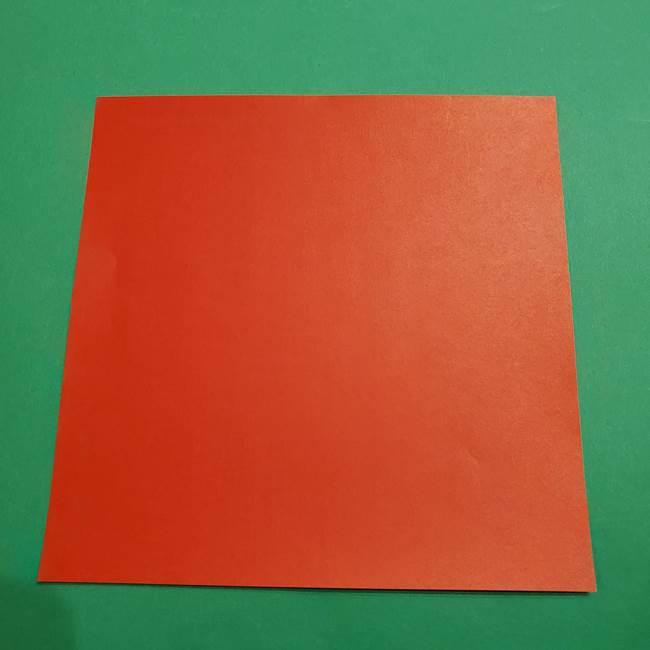 7月8月の折り紙 スイカ☆用意するもの(1)