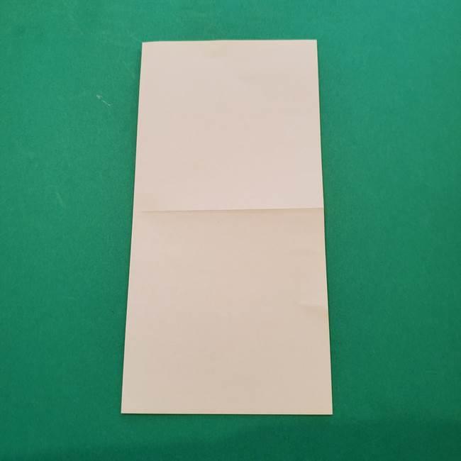 ひまわりの折り紙(8枚の花びら)の折り方作り方①花(4)