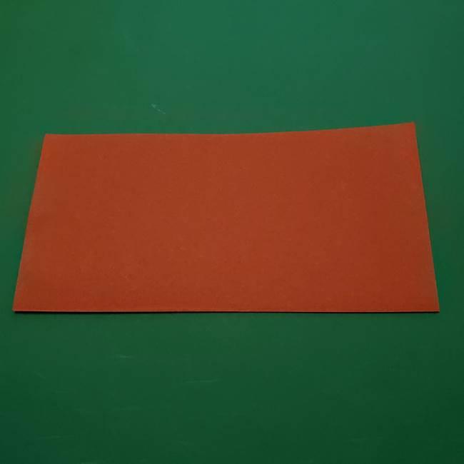 ひまわりの折り紙(8枚の花びら)の折り方作り方②中心(2)