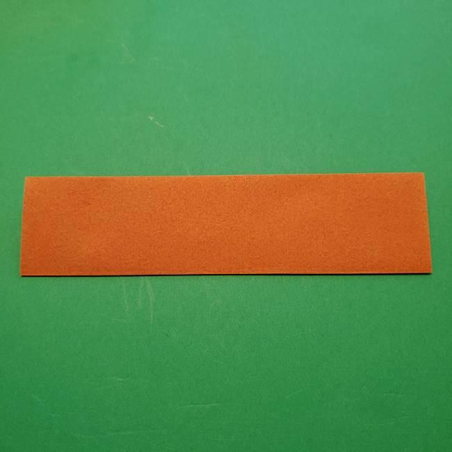 ひまわりの折り紙(8枚の花びら)の折り方作り方②中心(3)