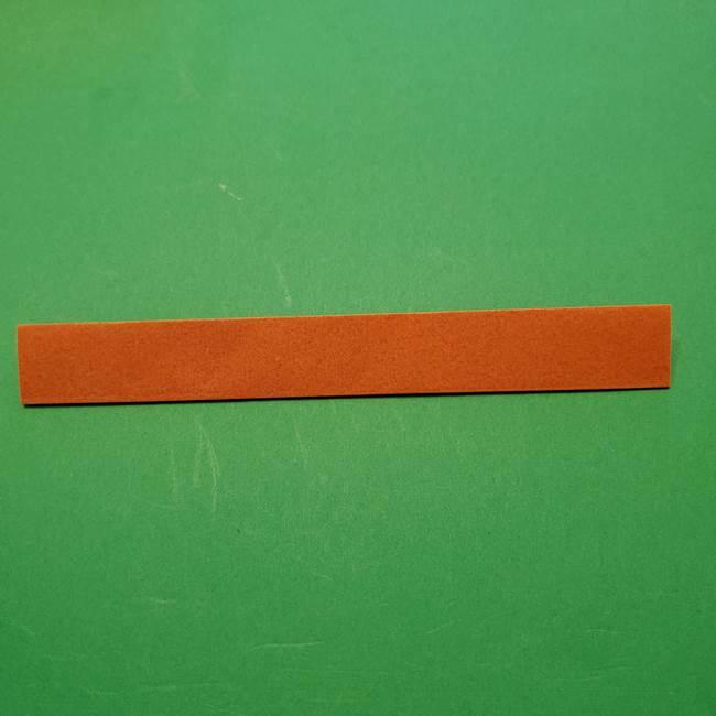 ひまわりの折り紙(8枚の花びら)の折り方作り方②中心(4)