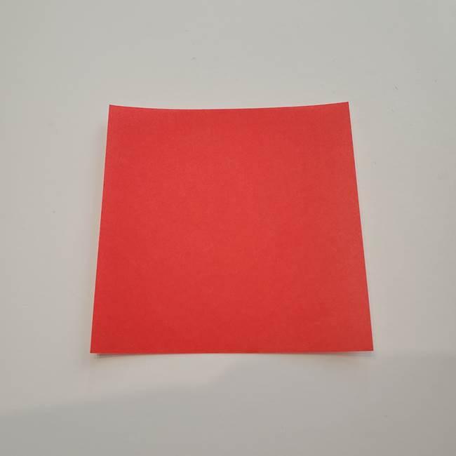ぷっくりした金魚の折り紙*用意するもの