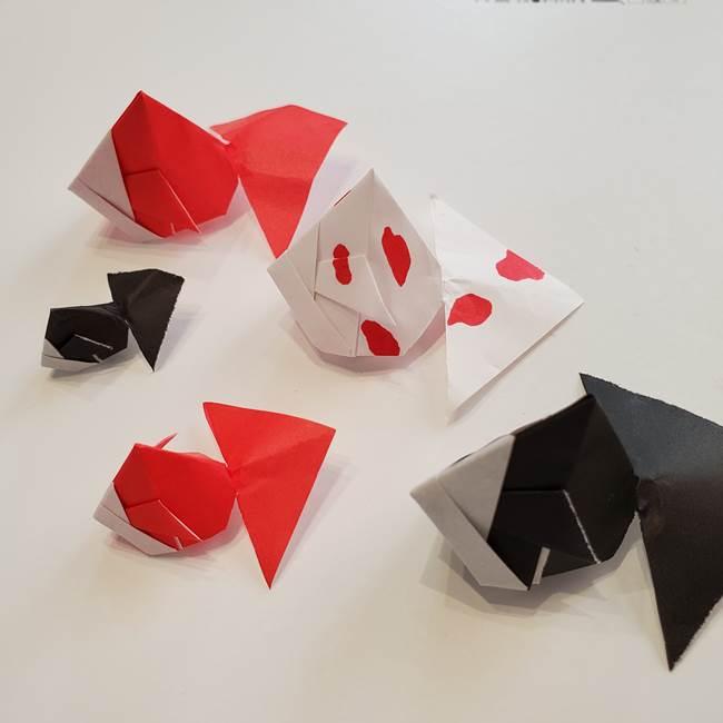 ぷっくり風船金魚の折り紙は簡単かわいい♪立体的な折り方作り方