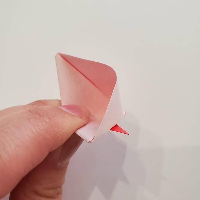 ぷっくり 風船金魚の折り紙の折り方作り方(11)