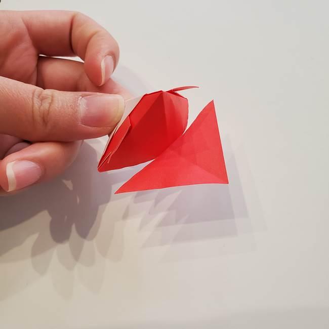 ぷっくり 風船金魚の折り紙の折り方作り方(15)
