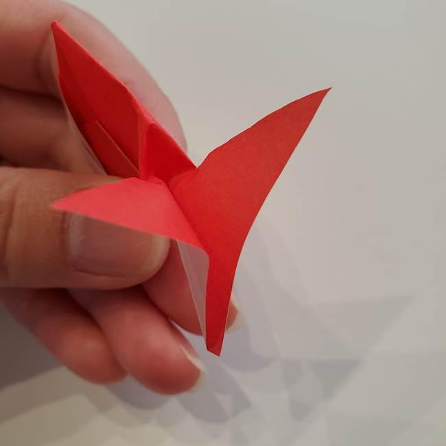 ぷっくり 風船金魚の折り紙の折り方作り方(16)