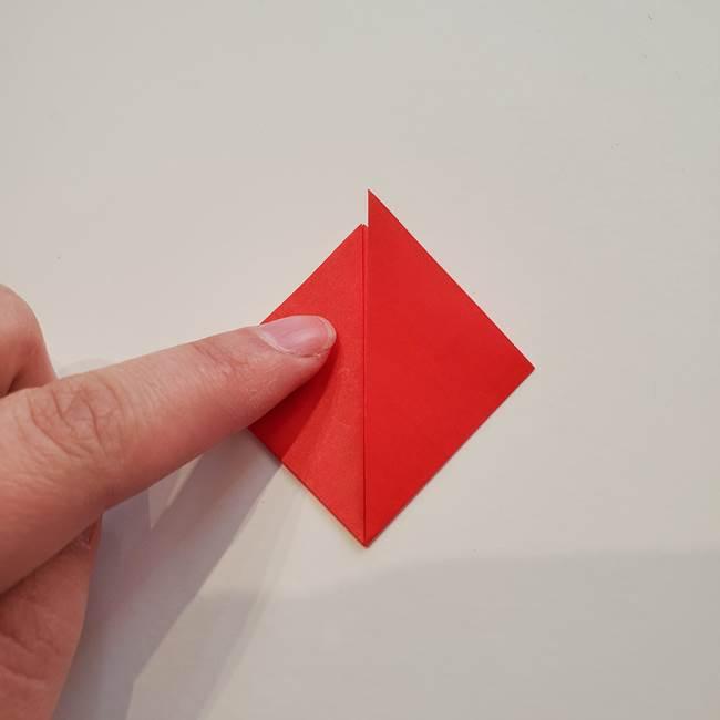 ぷっくり 風船金魚の折り紙の折り方作り方(3)